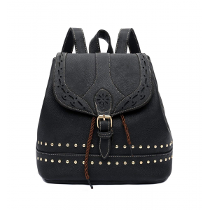 Women's Small Soft Leather Backpack Purse Fashion Girls Casual Shoulder Bag $23.99 At Amazon