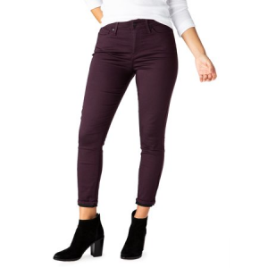 Women's High Rise Ankle Skinny Cuff Jeans $22.94 At Walmart