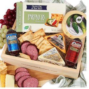 Gourmet Meat & Cheese Sampler at $37.99.