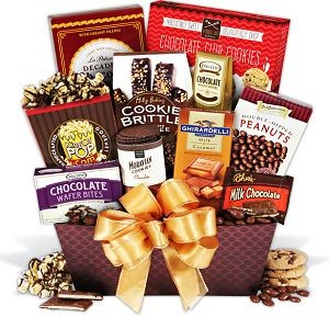 Father's Day Chocolate Gift Basket at $69.99.