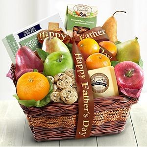 Father's Day Gourmet and Fruit Basket $49.95.