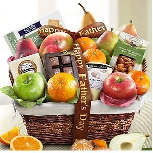 Father's Day Deluxe Fruit Basket $59.95.