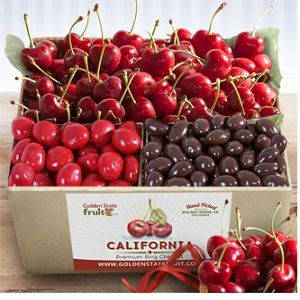 Bing Cherries and Chocolate Gift Box $42.95