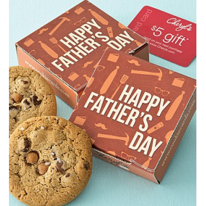 Father's Day Cookie & Gift Card at $5.00.