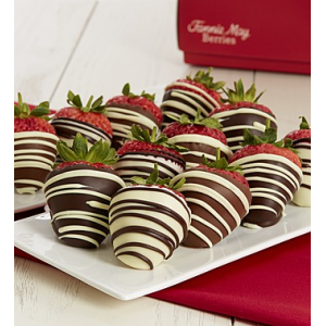 Full Dozen Decadent Chocolate Dipped Strawberries at $39.99.