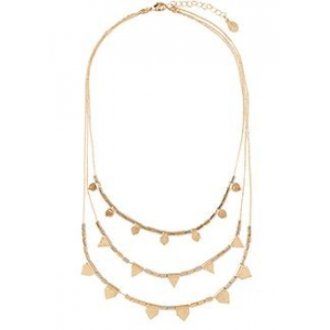 KALAHARI LAYERED METAL NECKLACE AT $29.
