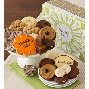 Thank You Gift Tin - Treats Assortment at $34.99.
