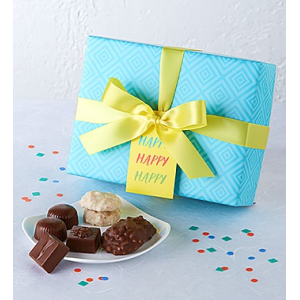 Happy Birthday Chocolate Delights at $14.95.