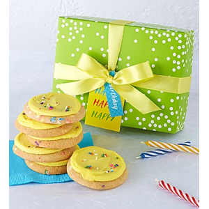 Happy Birthday Cookie Box  6pcs at $14.95.