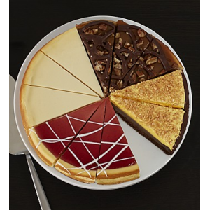 Cheesecake Sampler at $29.99.