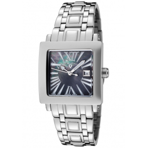 Colosso Stainless Steel Black MOP Dial at $64.99