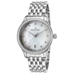 Get 70% off on Women's Les Classiques Diamond Stainless Steel Mother of Pearl Dial