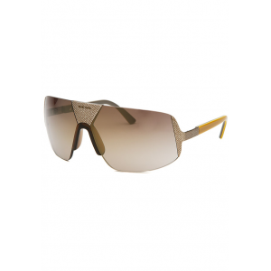 Women's Semi-Rimless Silver-Tone and Brown Sunglasses at $59.99