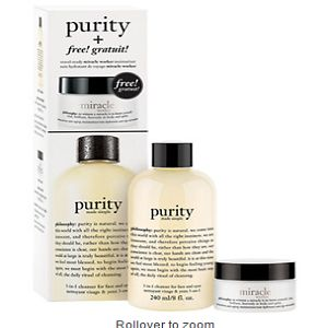 PHILOSOPHY purity duo 8 oz (237 ml) At $24.00