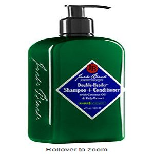 JACK BLACK Double-Header Shampoo + Conditioner 16 oz At $32.00