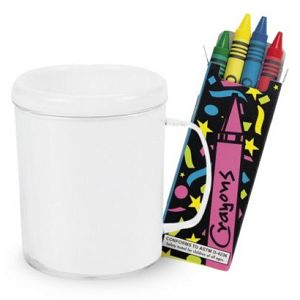 DIY Decorate a Mug and Crayons Kit (Each) At $1.99