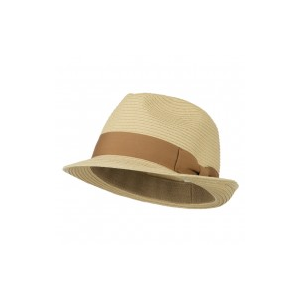 Big Size Toyo Straw Fedora with Band at $38.49.