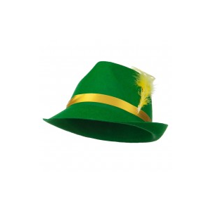 Felt Bavarian Hat with Feather at $9.99.