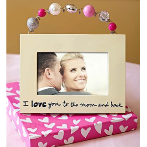 I Love You to the Moon and Back Frame at $14.99