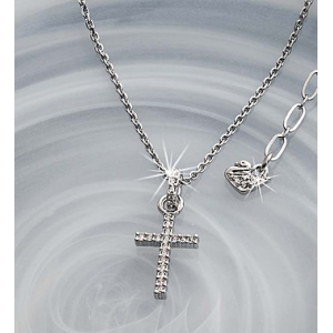 SWAROVSKI? Crystal Cross Necklace at $69.99