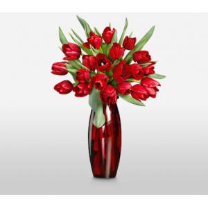 Get $50 off on Rapturous Reds Sale Complimentary Designer Vase