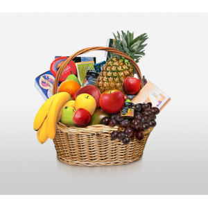 Classic Fruit & Gourmet Basket at $92.98