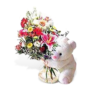 Bear and Bouquet at $49.99