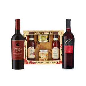 Stonewall Kitchen ULTIMATE Grilling & Wine Gift Set at $106.99