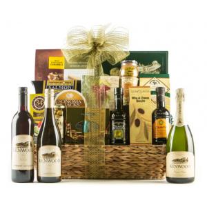 Bountiful Vineyard Wine Gift Basket at $149.99