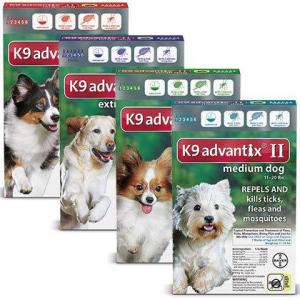 K9 Advantix II Starts at $51.49