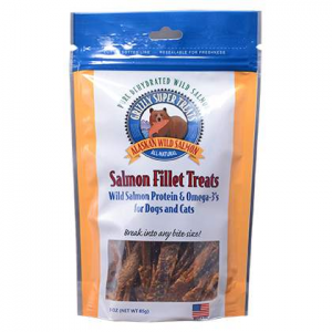 Grizzly Salmon Fillet Treats at $10.99