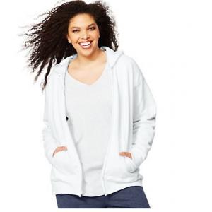 Just My Size Fleece Full-Zip Women's Hoodie $14.99