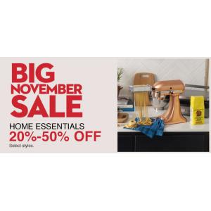 Big November Sales