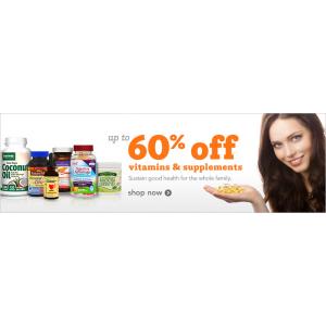 Upto 60% Off on Vitamins & Supplements