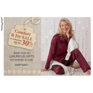 Comfort and Joy Sales all sleepware upt to 30% OFF
