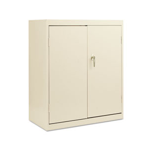 Alera All Steel Assembled Storage Cabinet 36w x 18d x 42h Putty At $175.95