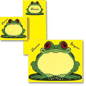 Frog Personalized Stationery & Memo Ensemble At $9.95