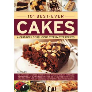 101 Best-Ever Cakes: Special Stand-Up Cards to Make the Recipes Easy to Follow At $20.91