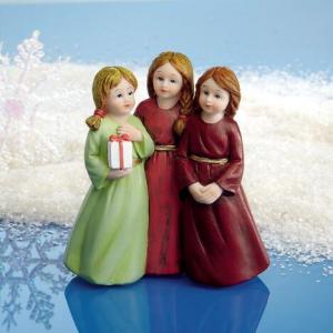 Three Sisters Holiday Figurine At $12.00
