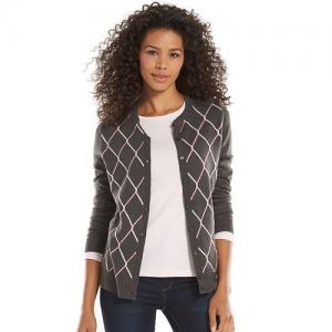 Croft & Barrow Essential Cozy Cardigan Sweater - Women's At $17.99
