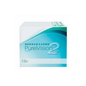 PureVision2 Contact Lens 6 lenses per Box At $36.99