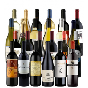 Flat 54% Off on Wine Advent Calendar 24 Bottles (2 Cases) At just $199.99