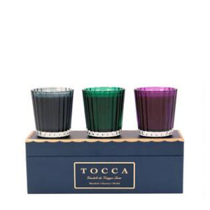 TOCCA HOLIDAY CANDELE DA VIAGGIO TRAVEL SIZE SET At $45.00