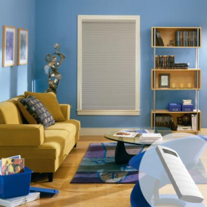 Economy Motorized Cellular Shades At $144