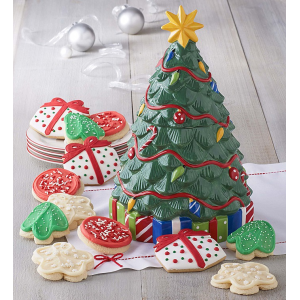 Collector's Edition Christmas Tree Cookie Jar At $49.99