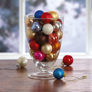 Glass Ball Ornaments At $12.99