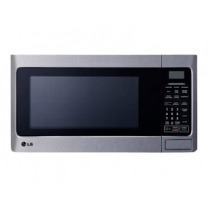 LG - 1.1 Cu. Ft. Mid-Size Microwave - Stainless Steel - LCS1112ST At  $20.00