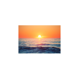 Sunrise over sea At $2.50 / M image