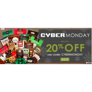 Cyber Monday Sale : Get 20% Off on Gift Baskets