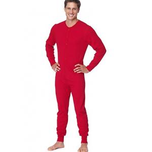 Hanes Men's X-Temp Thermal Union Suit At $24.99